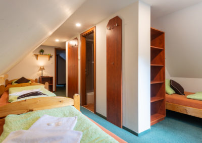 Podkrovní pokoj