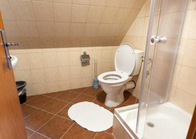 Podkrovní pokoj - toaleta